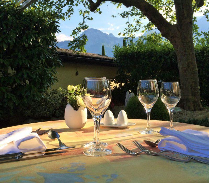 Restaurant terrasse ombragee aigle
